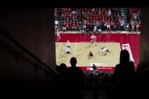 Nebraska volleyball takes on No. 7 Wisconsin on Saturday, September 30, 2017 at the Devaney Sports Center.