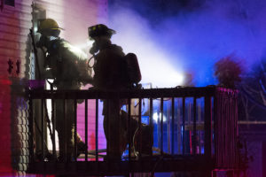 A fire broke out at 2629 N 5th Street on Saturday, Dec. 9, 2017, just after 9 p.m. Food left cooking on the stove was found to be the cause of the fire.