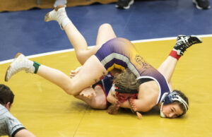 Girls wrestling is not a varsity sport sanctioned by the Nebraska Scholastic Activities Association. Instead the athletes compete in a tournament hosted by the Nebraska Scholastic Wrestling Coaches Association. The championships were held at York High School on Saturday, February 1, 2020.